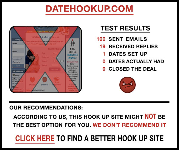 DateHookup comparison stats