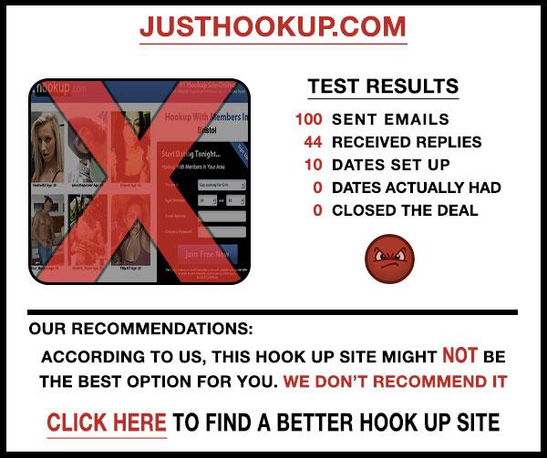 JustHookup comparison stats